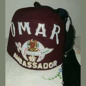 2 Shrine Omar Hats